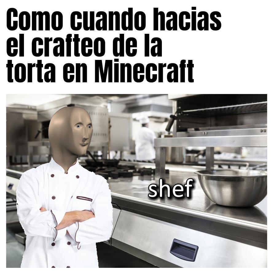 Meme sobre Minecraft espero que les guste Meme subido