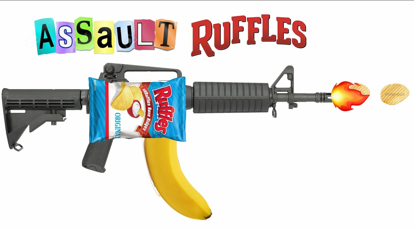 Assault Ruffle With Illegal Banana Clip Meme By Barrack Obama