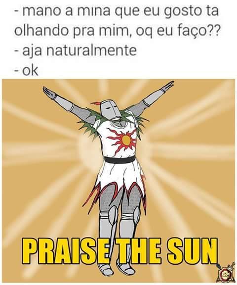Praise the sun - Meme by Cauê do pão :) Memedroid