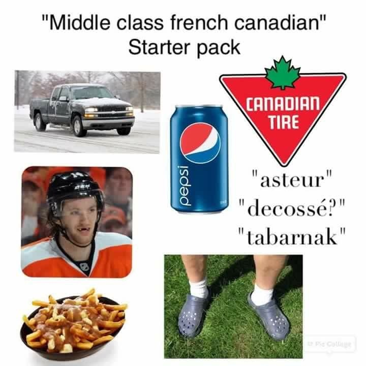 Pack Of French Canadian Meme By Rodr1got Memedroid