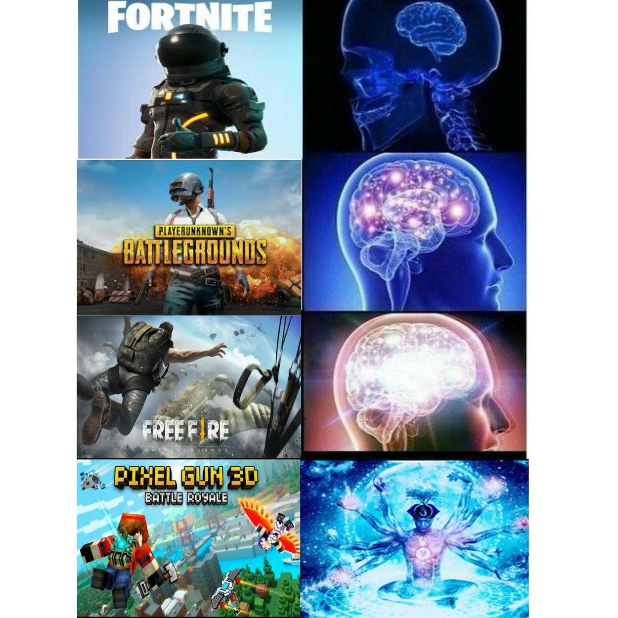 Meme De Fortnite Vs Free Fire