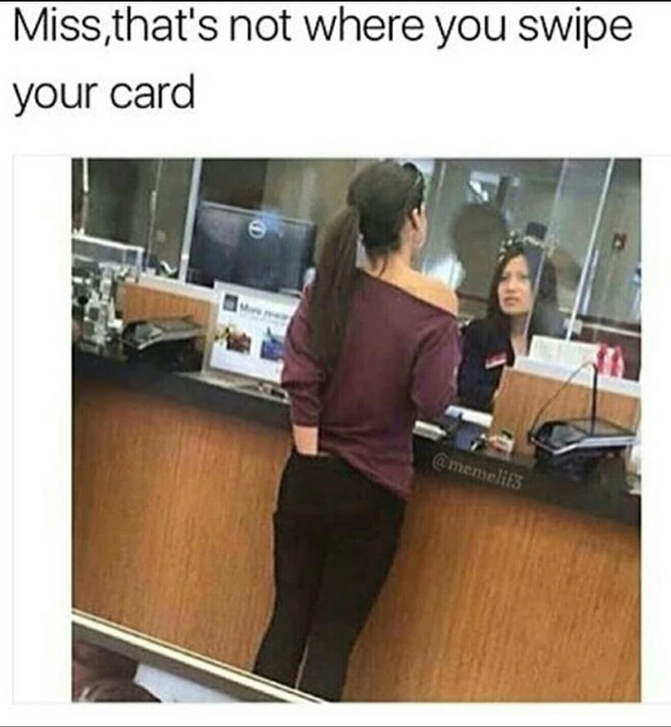 We use chip cards now