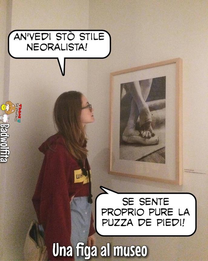 Chiara al museo