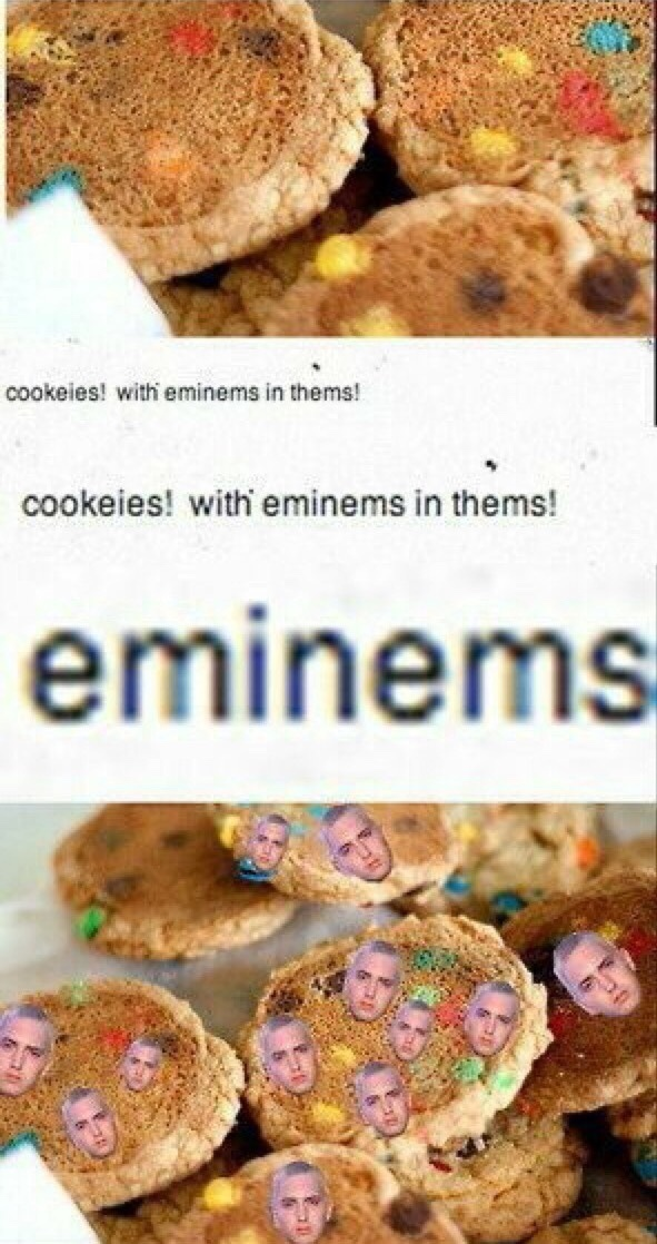 cookies with eminems