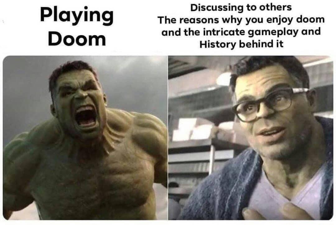funny doom eternal memes