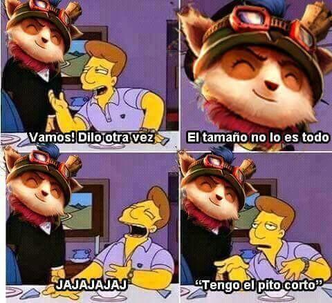 Ste Teemo Meme By Zebrita21 Memedroid