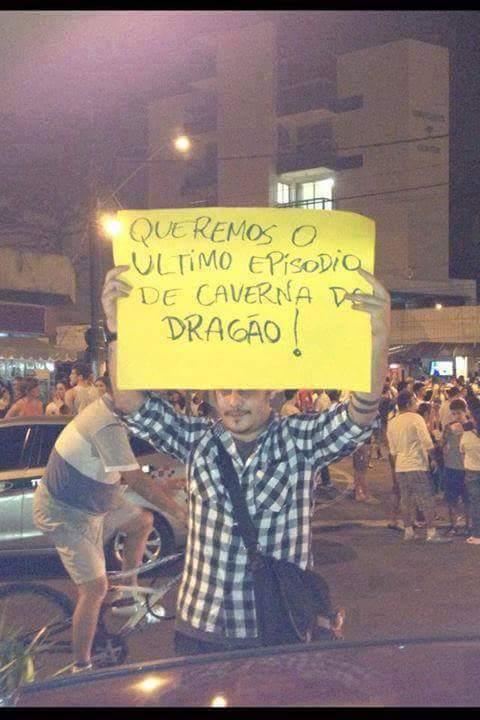 Protesto de nerd ;-;