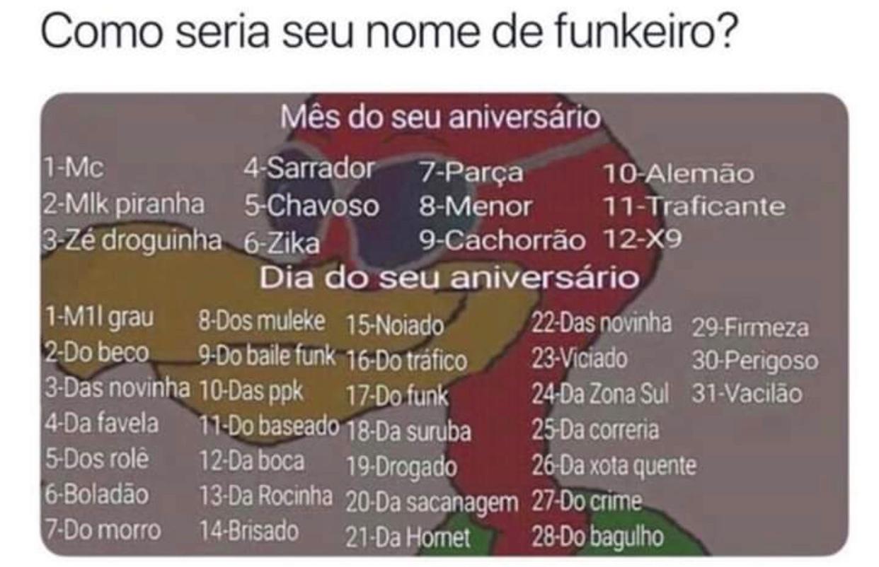 Funkeiro nem é gente! - Meme by taygeta :) Memedroid