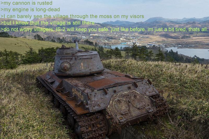 Tank feels