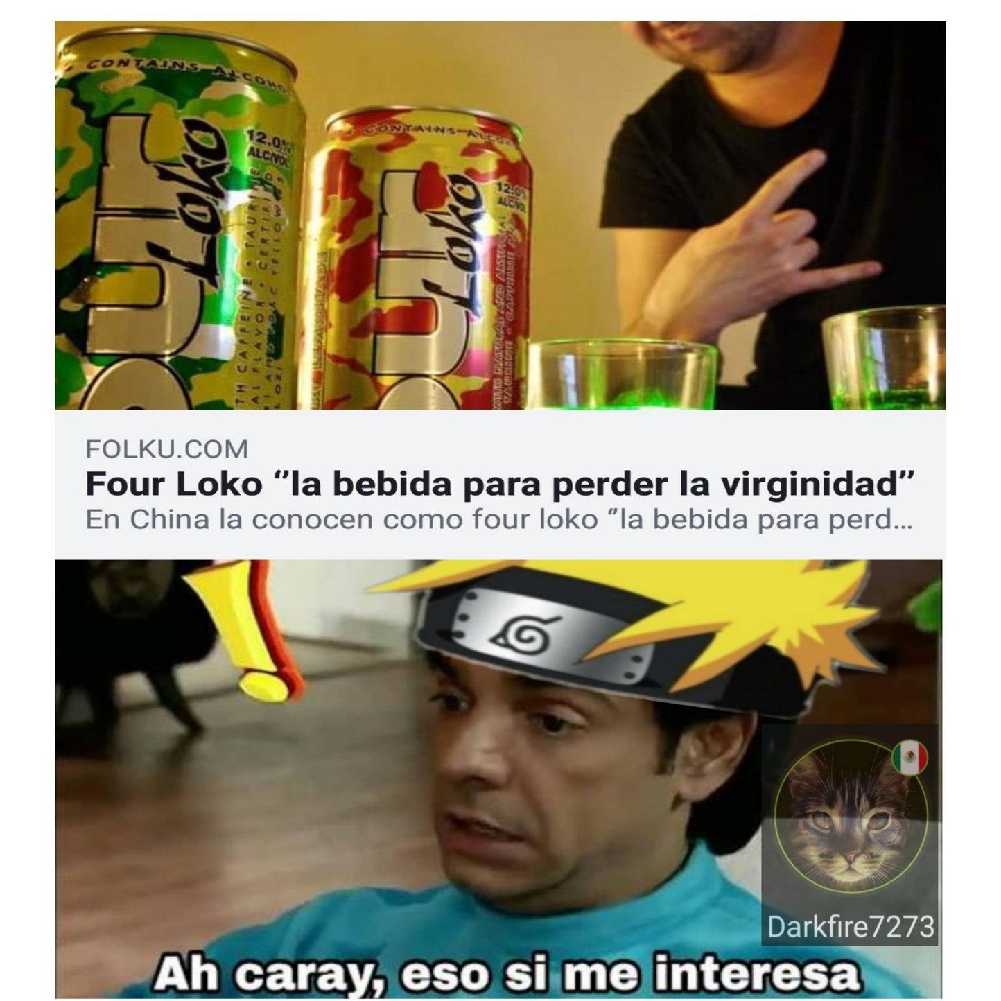 Four Loko Meme By Darkfire7273 Memedroid
