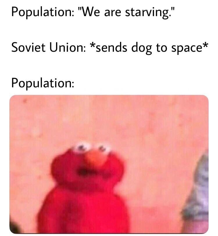 USSR national anthem plays in background* - Meme by