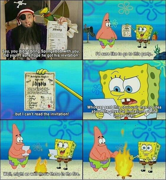 I miss the real spongebob