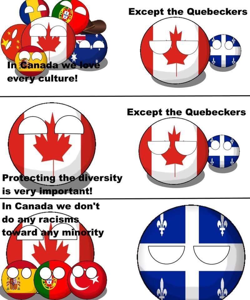 Except the Quebecker