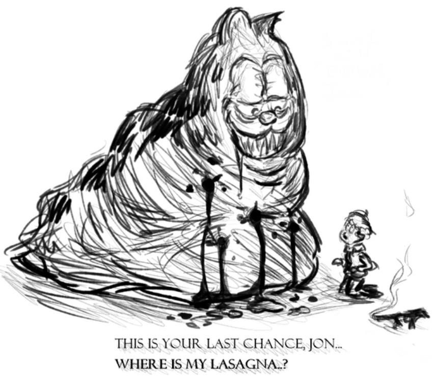 Sacrifice For Garfield Meme By Kingoffrogs Memedroid