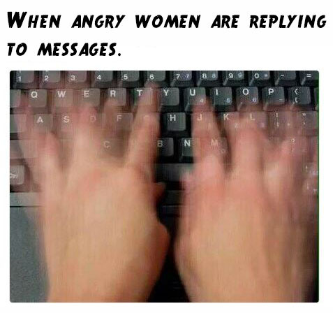 anger typing meme by life mystery memedroid