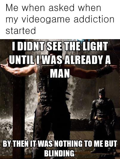 You merely adopted the game