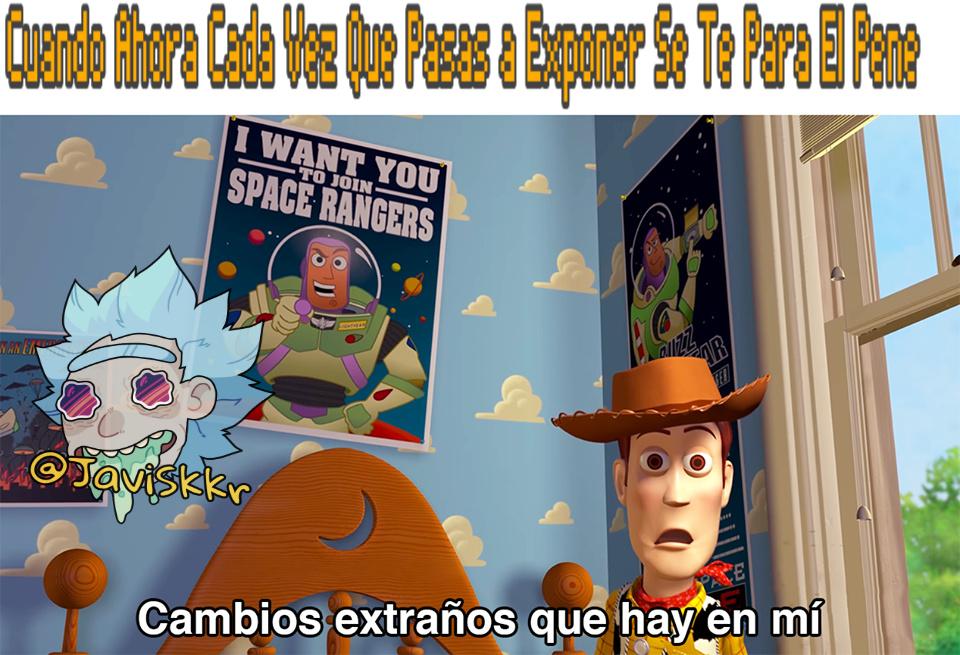 Cambios extraños hay en mi - Meme by JaviSkkr :) Memedroid