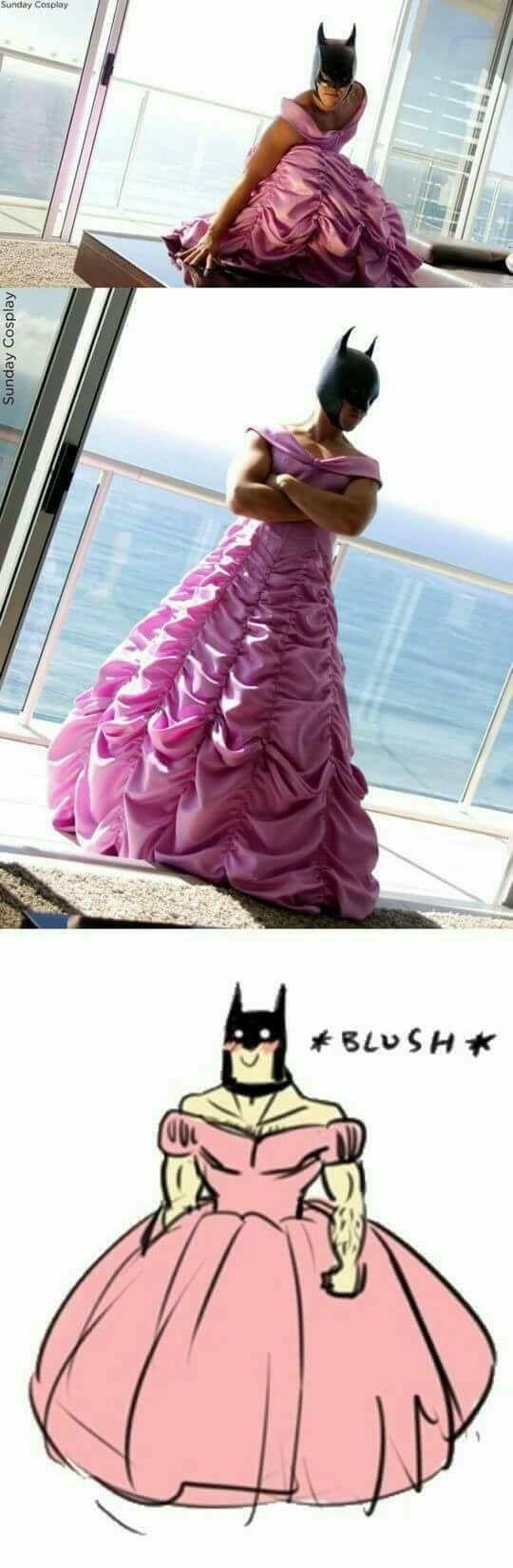... Batman ? Batgirl ?