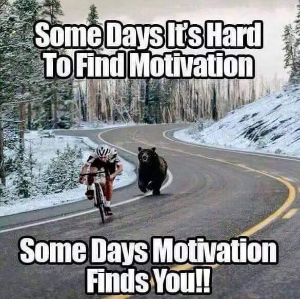 Motivation is masturbation