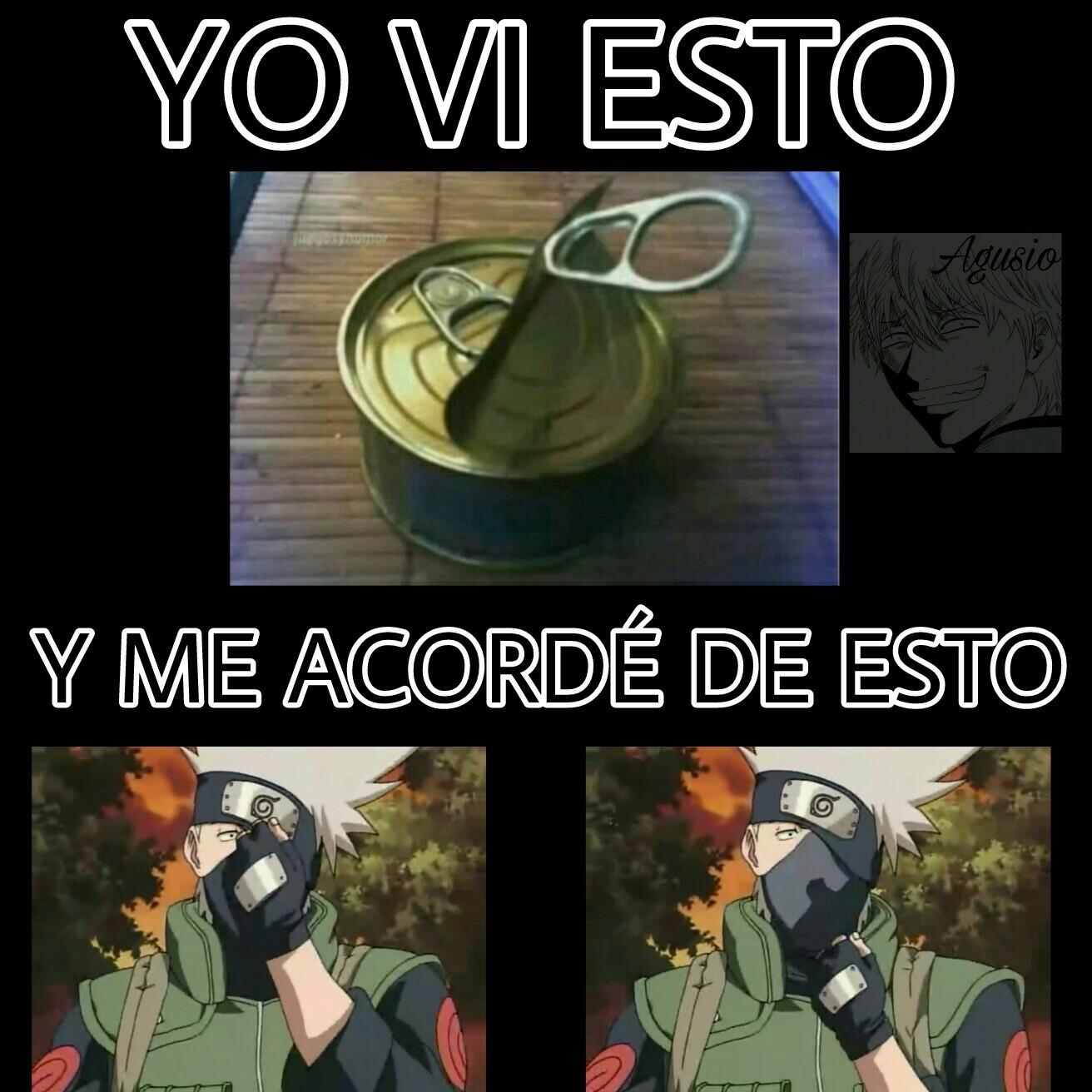 Kakashi Hatake Meme By Agusio Memedroid