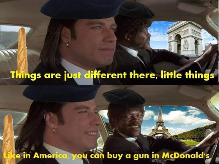 La Pulp Fiction Hon Hon Hon Meme By Discord Memedroid