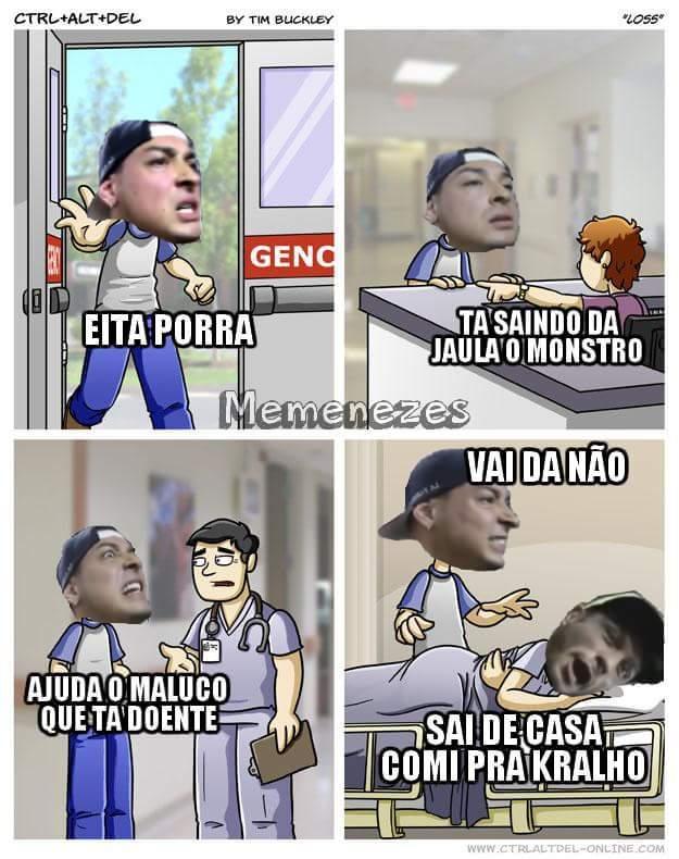 E AGORA, QUEM VAI DERRUBAR AS ÁRVORES DO IBIRAPUERA CARALHO?! - meme