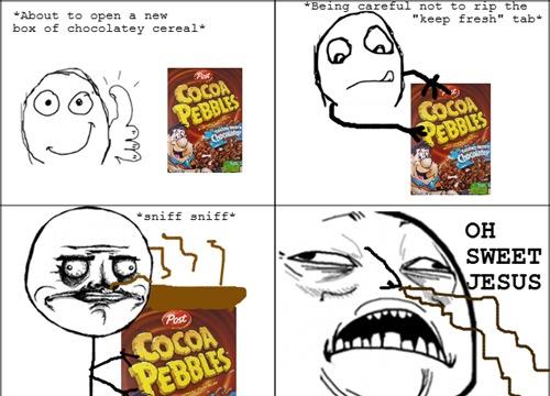 Chocolaty goodness - meme