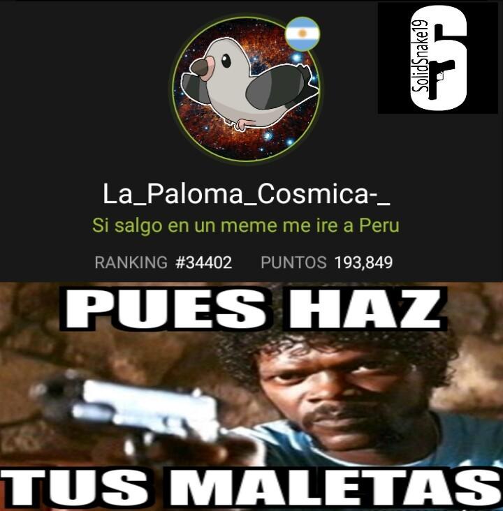 A Perú - meme