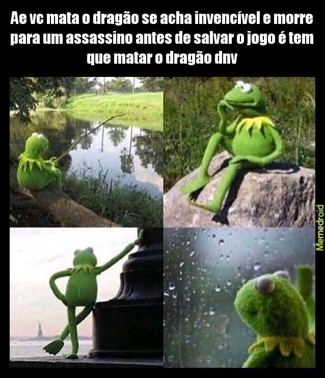 Skyrim ;-; - meme