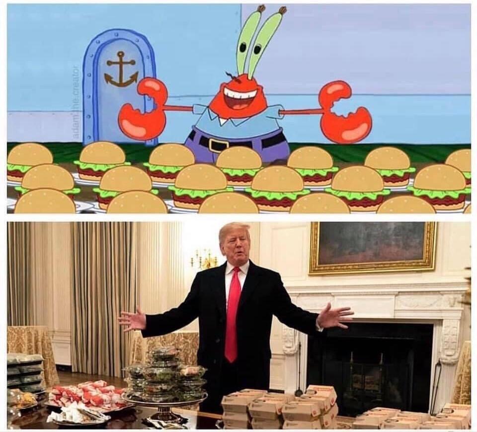 Insérer un Trump - meme