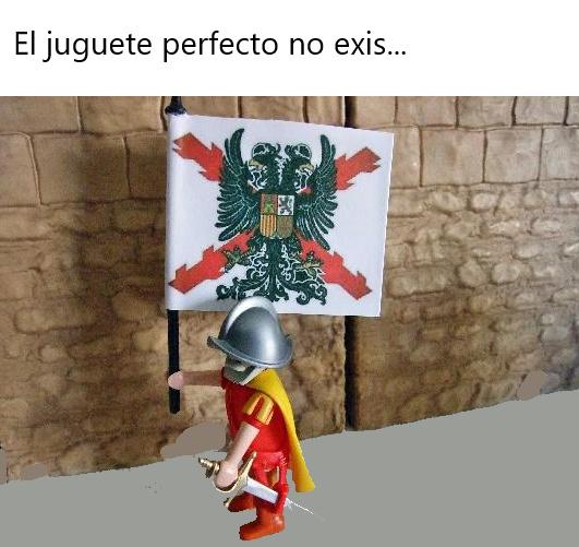 Playmovil de los Tercios Españoles con bandera incluida :really: - meme