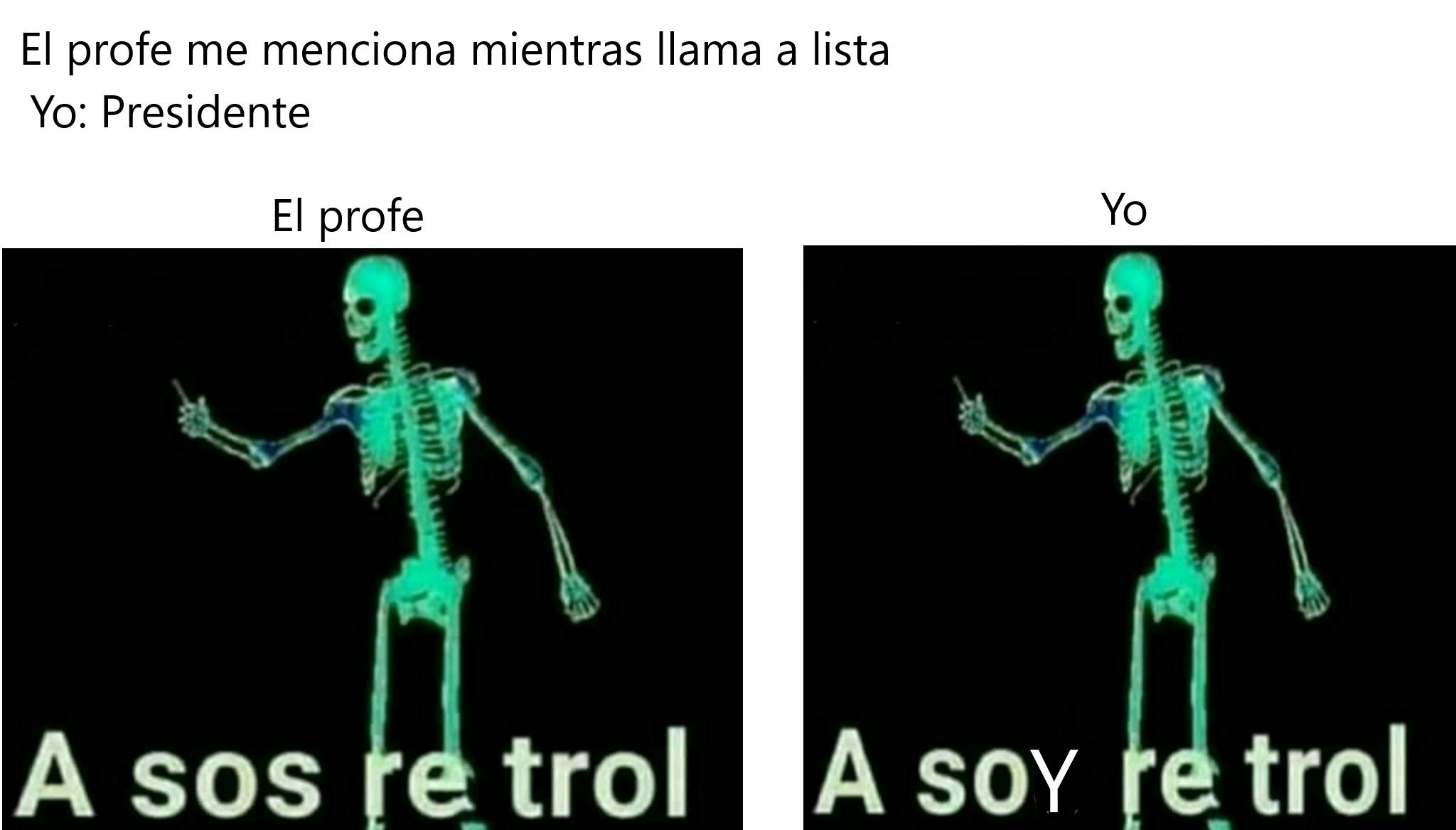 Presidente - meme