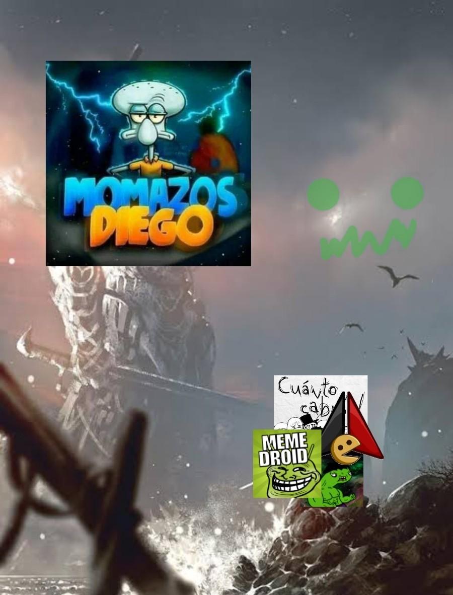 Momazos Diego - meme
