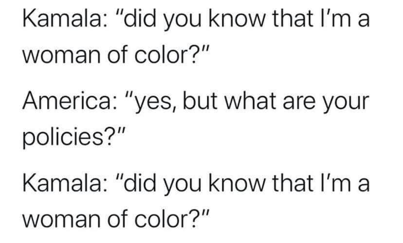 title dislikes Kamala - meme