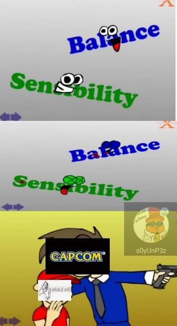 "Literal resident evil 4 se caga con la palabra ""balance"" - meme"