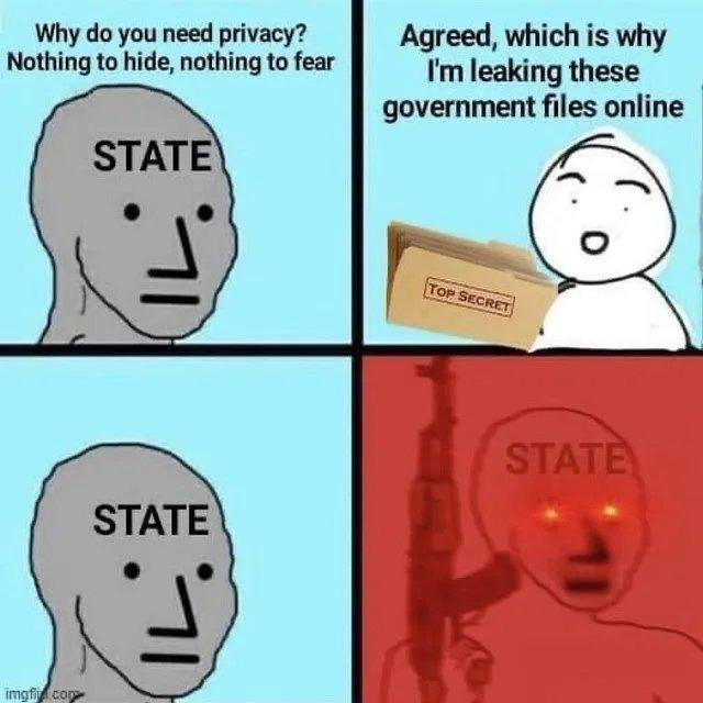 Government goes brrr - meme