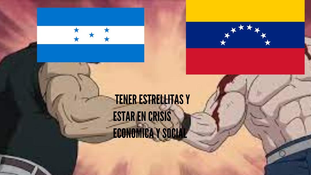 Honduras es Venezuela versión Centroamerica y Venezuela es Honduras versión Sudamerica - meme