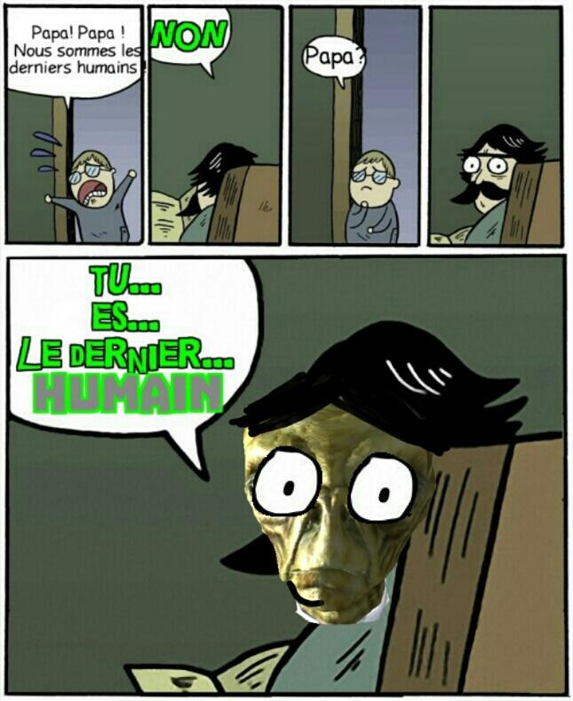 Le dernier de l'espèce - meme