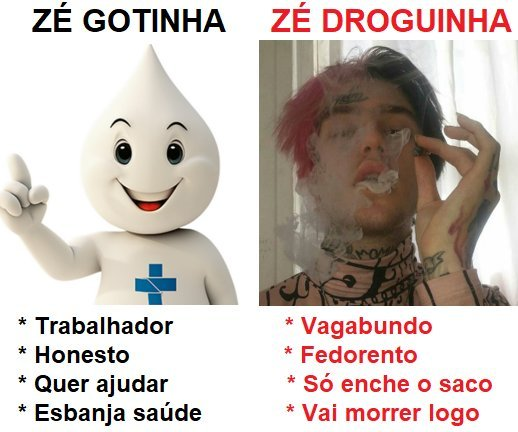 Zé gotinha - meme