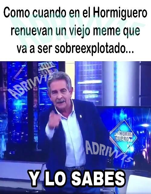 Los de España entenderán - meme
