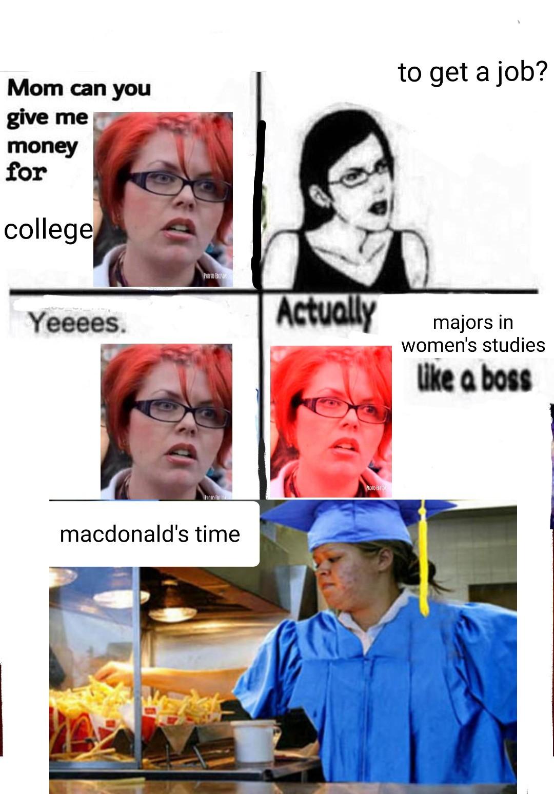 Flip dem burgers - meme