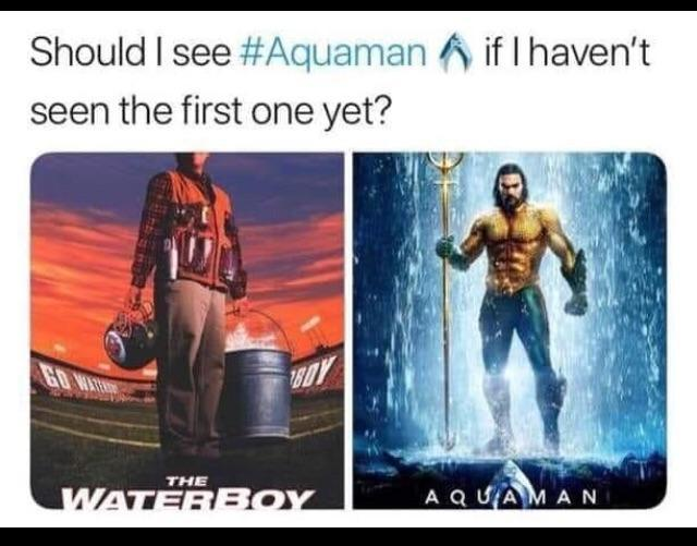 The Original Aquaman - meme
