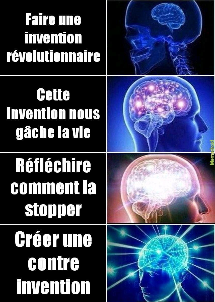 Des génies - meme