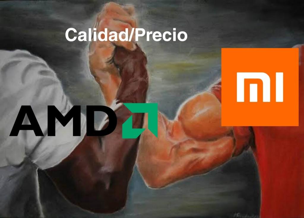 Aguante AMD papa - meme