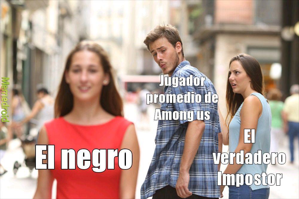 Meme de among us