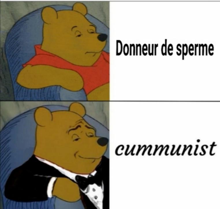 C um = sper me - meme