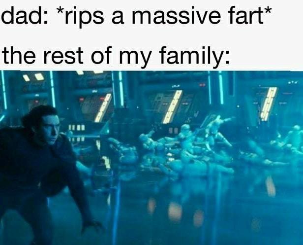 Really dad - meme