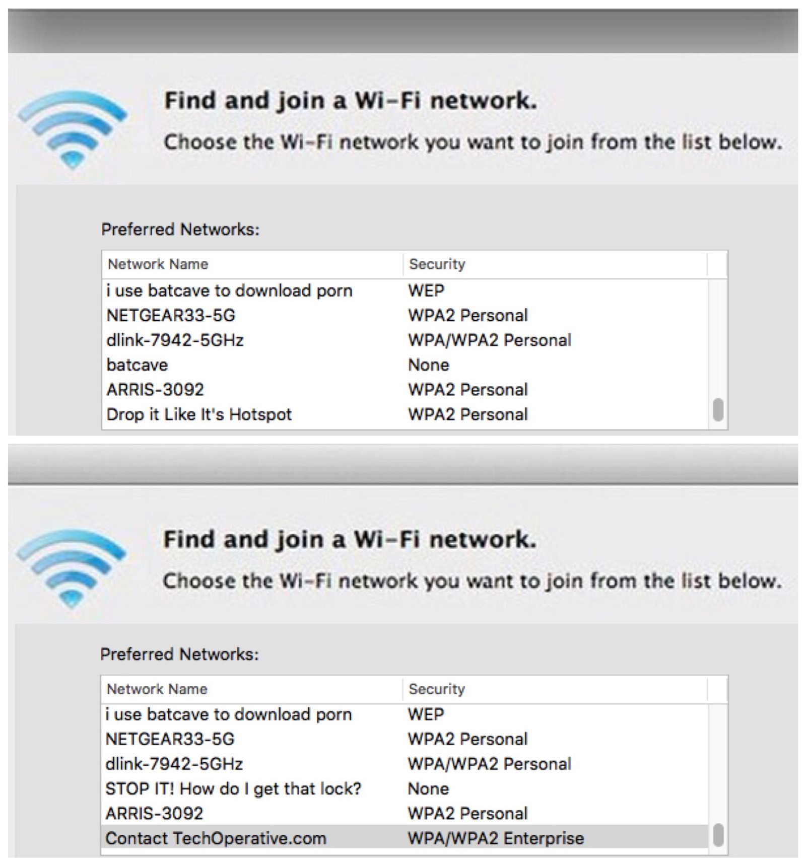 wifi network soap opera - meme