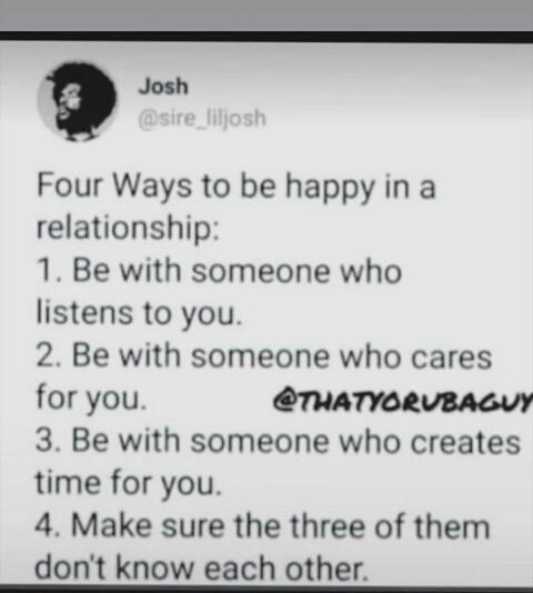 The 4 ways - meme