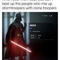 Clones>stormtroopers